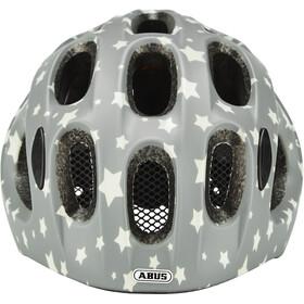 ABUS Youn-I Kask rowerowy Dzieci, grey star